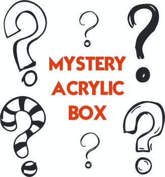 Mystery 2mm Clear Acrylic Box