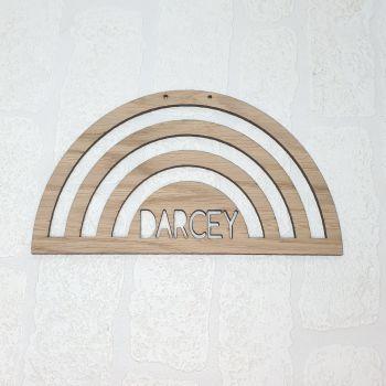 Cut-Out Rainbow plaque