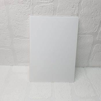 3mm clear A2 plaque (POST INCLUDED ITEM)
