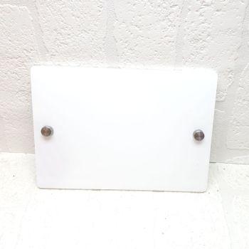 Blank House Number Sign (7 design shapes - GLITTER COLOURS)