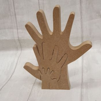 Stacking Hands (3)