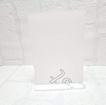 Mirror Colour Acrylic-  A5 Plaque with base