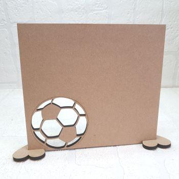 MDF Football Plaque
