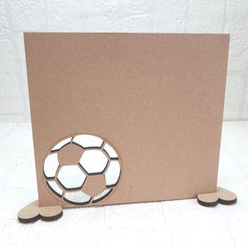 Oak Veneer Football Plaque