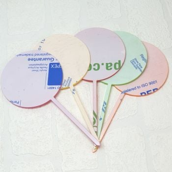 10cm long stem cake toppers  (pack of 1/5/10/20/50) (Standard Colours)