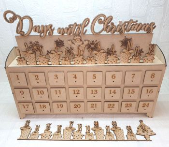 24 Drawer Countdown Advent Calender