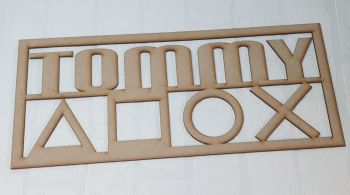Gamers Name Plaque