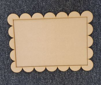 A4 Plaque with Border