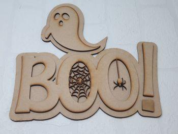 Boo! Plaque