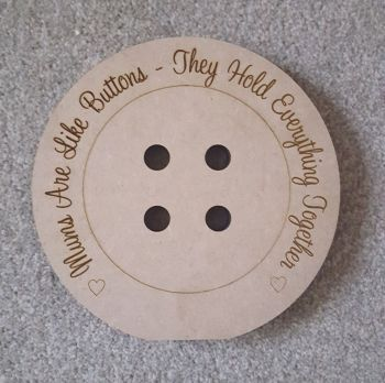 Freestanding Engraved Button