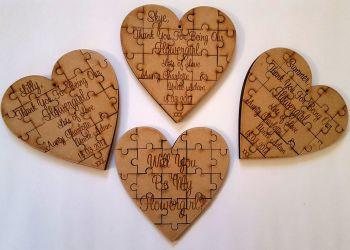 Heart Shape Jigsaw