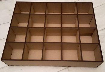 10cm Compartment Box Tray