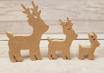 Set of 3 Reindeer