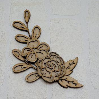 Floral Embellishment Set