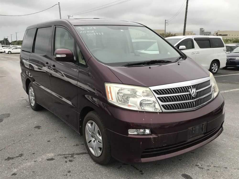 TOYOTA ALPHARD, 2004, 2.4 LITRE, SUNROOFS, 63,569 MILES, AUTOMATIC, 4WD
