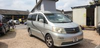 TOYOTA ALPHARD 4 BERTH CAMPERVAN WITH REAR CONVERSION & POP-UP ROOF