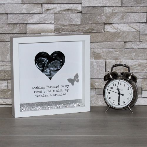 Baby Scan Personalised Frame Glitter Frame New Baby Gift Baby