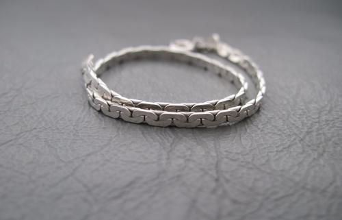 Sterling silver bracelet (7