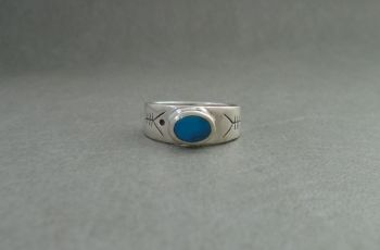 Sterling silver navajo style ring