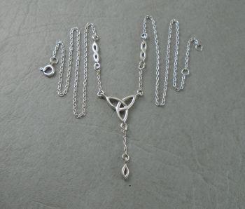 Sterling silver Celtic knot necklace