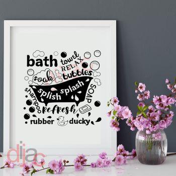 BATH SOAK SPLISH SPLASH15 x 15 cm