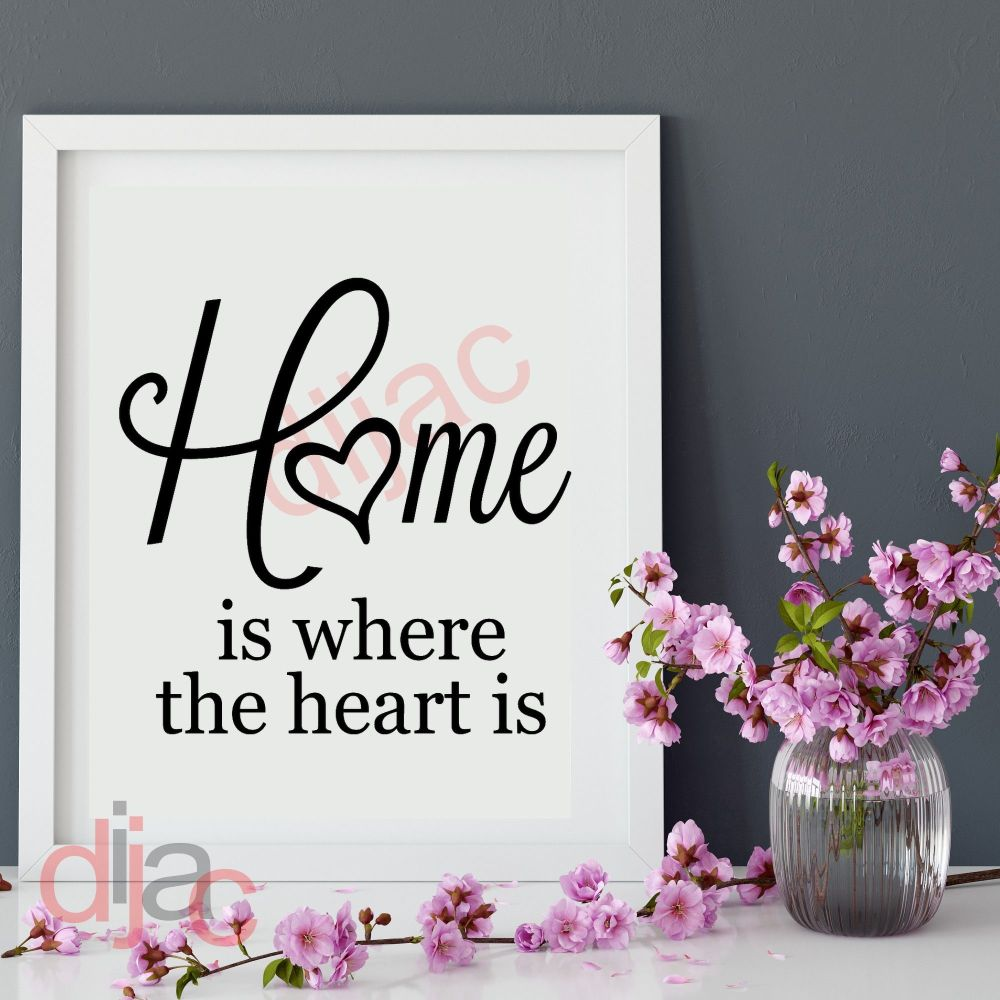 HOME IS WHERE YOU FIND THE LIGHT... VINYL DECAL