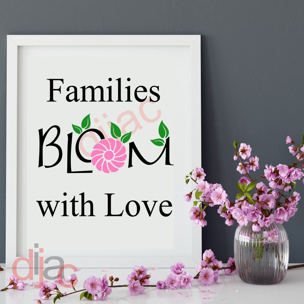 FAMILIES BLOOM WITH LOVE15 x 15 cm