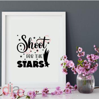 SHOOT FOR THE STARS15 x 15 cm