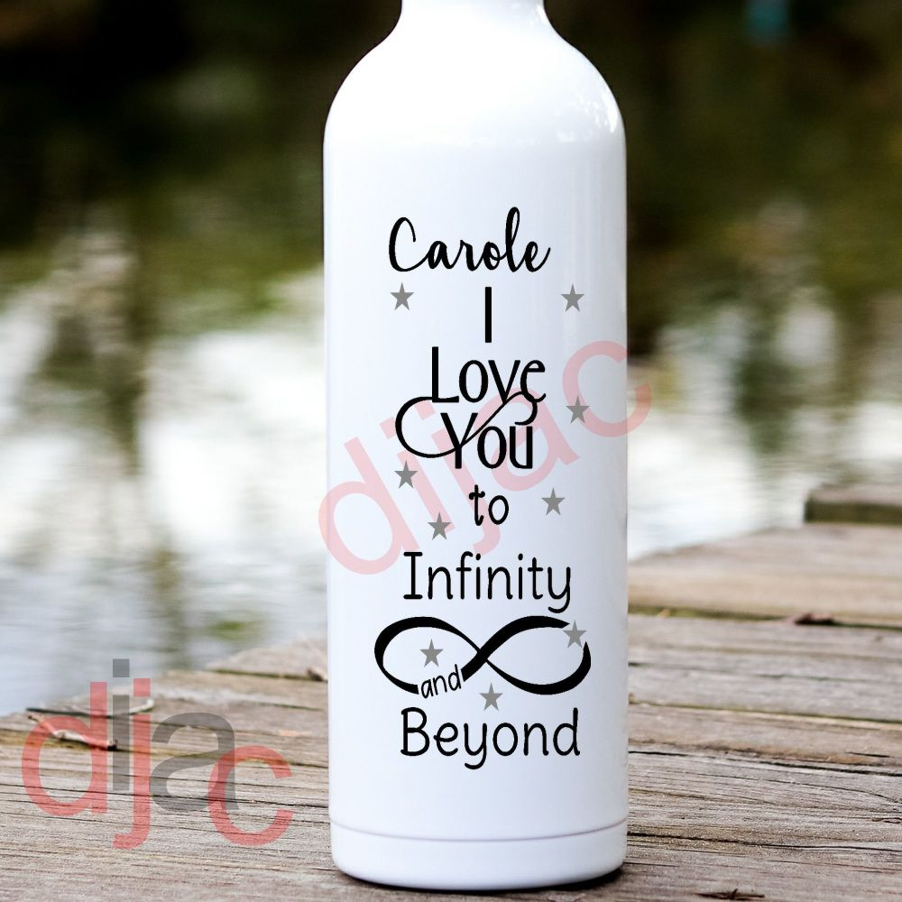 INFINITY AND BEYOND VINYL DECAL