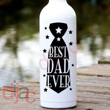BEST DAD EVER (D1) VINYL DECAL
