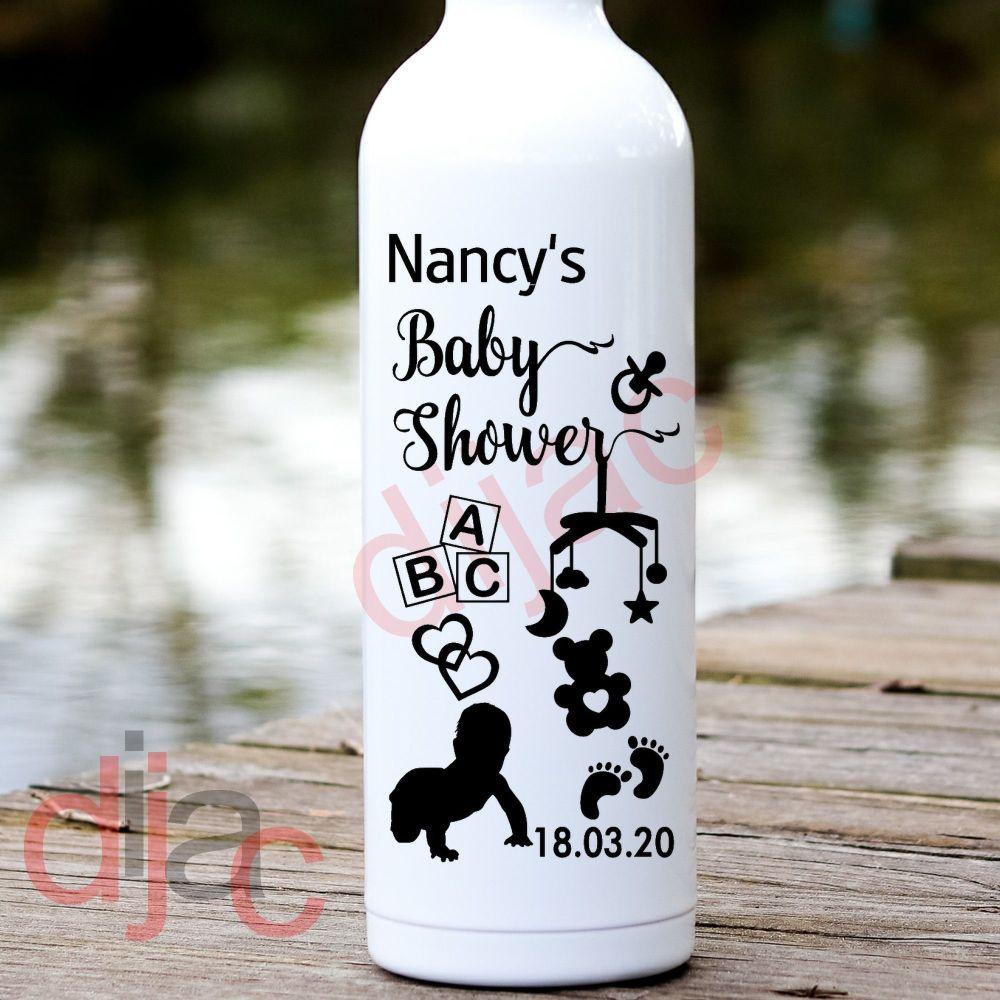 BABY SHOWER (D2) VINYL DECAL