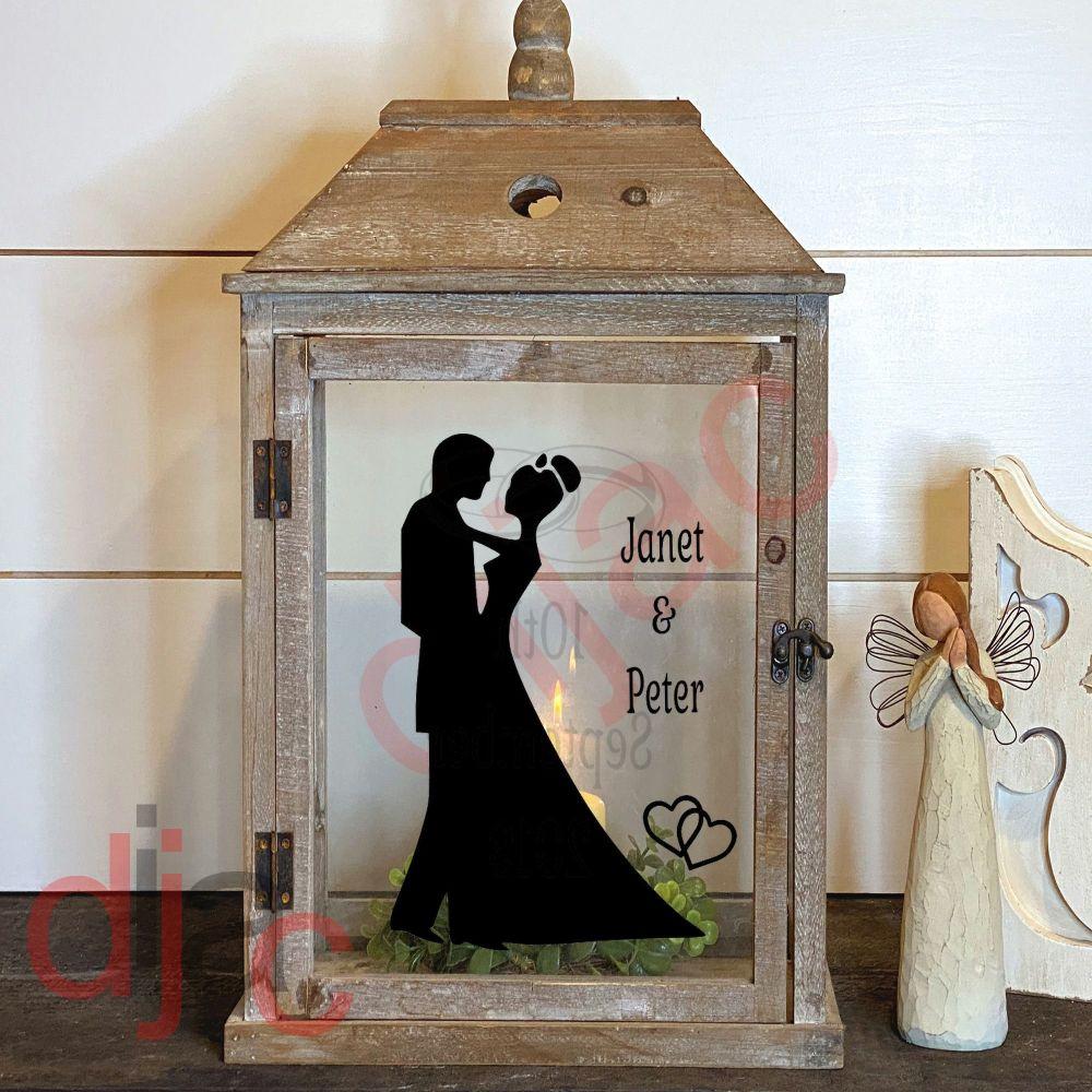 WEDDING DAY2 part DECAL 13 x 9 cm