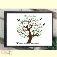 3 NAME FAMILY TREE PRINT