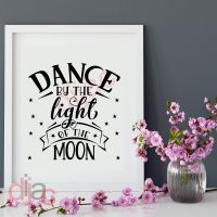 DANCE BY THE LIGHT OF THE MOON<br>15 x 15 cm