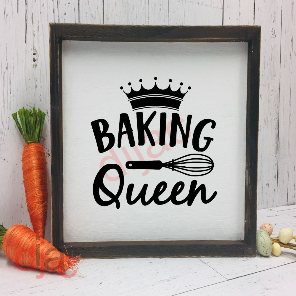 BAKING QUEEN15 x 15 cm