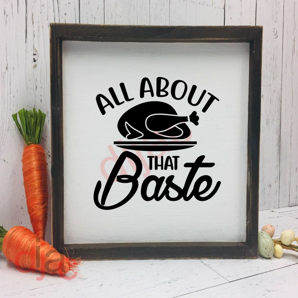 ALL ABOUT THAT BASTE15 x 15 cm