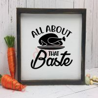 ALL ABOUT THAT BASTE<br>15 x 15 cm
