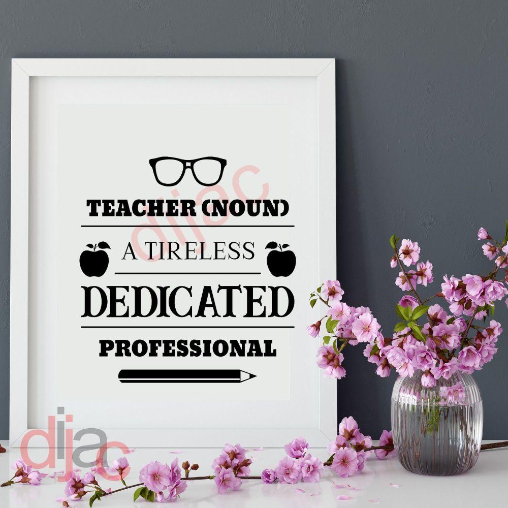 TEACHER NOUN 15 x 15 cm
