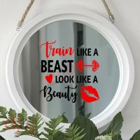TRAIN LIKE A BEAST<br>15 x 15 cm