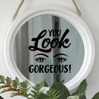 YOU LOOK GORGEOUS<br>15 x 15 cm