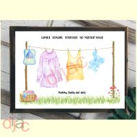 3 CHARACTER WASHING LINE FAMILY PRINT