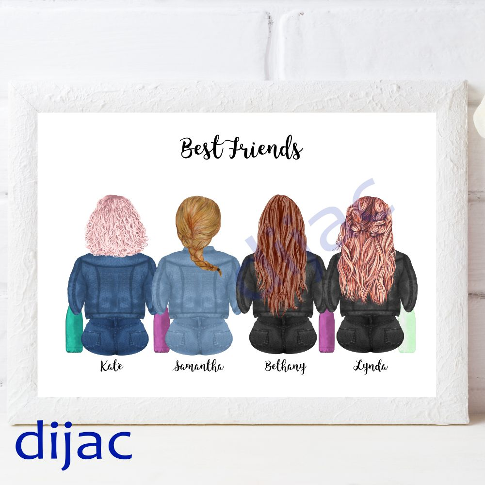 Best Friends Prints
