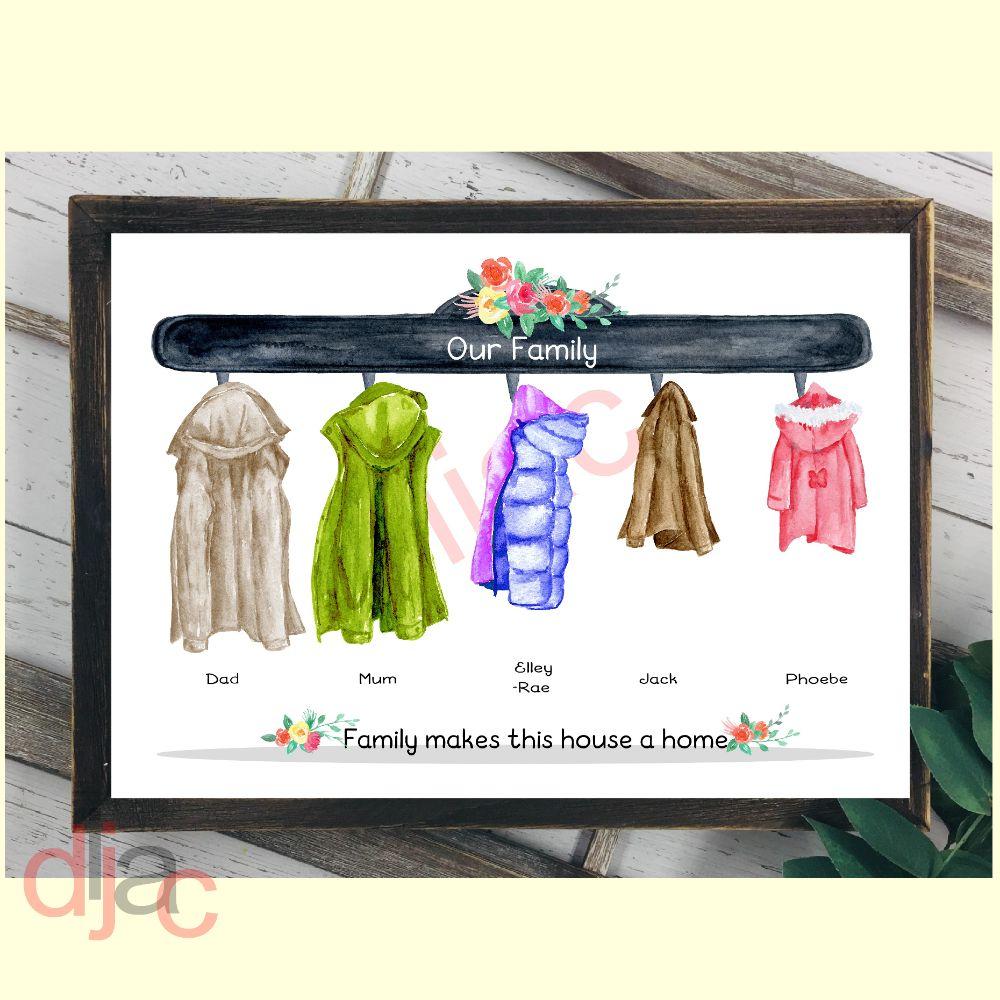 Coats (D2) Family Prints