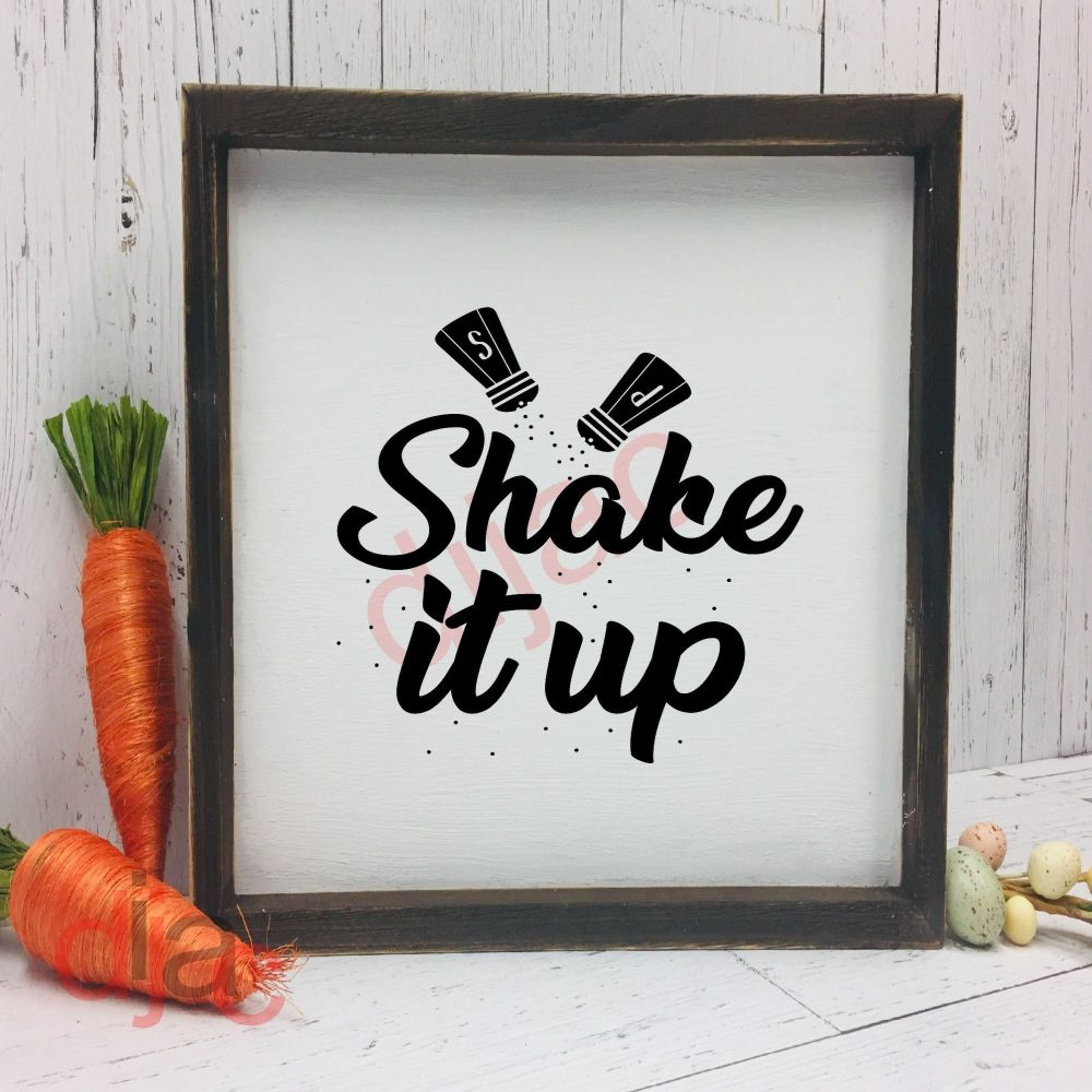 SHAKE IT UP15 x 15 cm