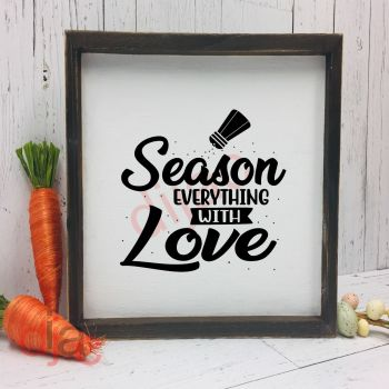 SEASON EVERYTHING WITH LOVE15 x 15 cm