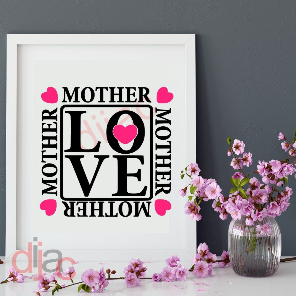 MOTHER LOVE 15 x 15 cm