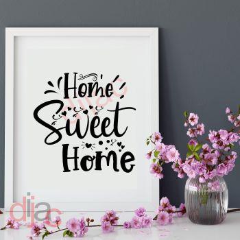 HOME SWEET HOME (D2)15 x 15 cm