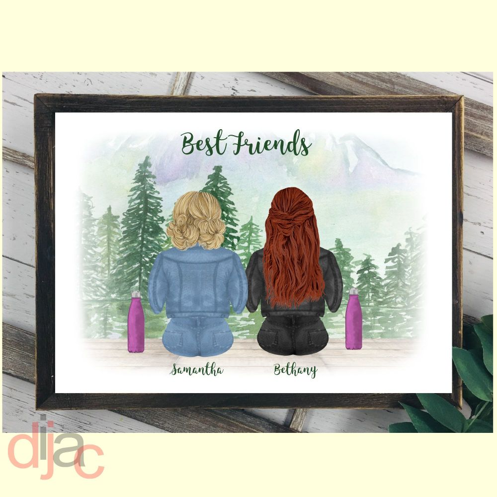 BEST FRIENDS DIGITAL PRINT
