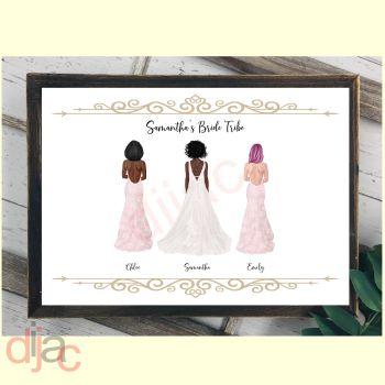 BRIDE TRIBE (D2)DIGITAL PRINT