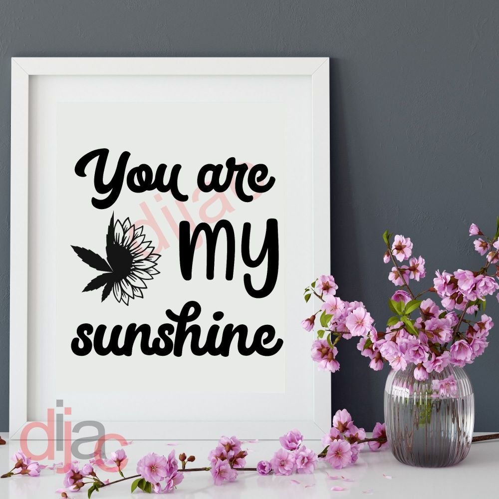 YOU ARE MY SUNSHINE15 x 15 cm